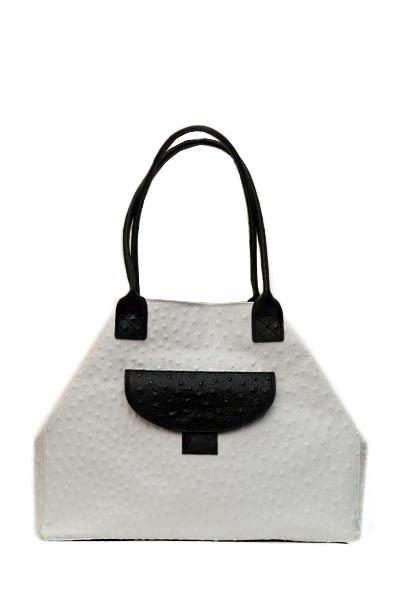 Модная сумка под кожу крокодила.
