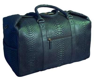 Багажная женская сумка из Кожи питона Alanda 23158.