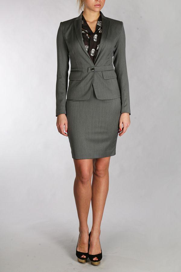 строгий женский костюм с юбкой купить