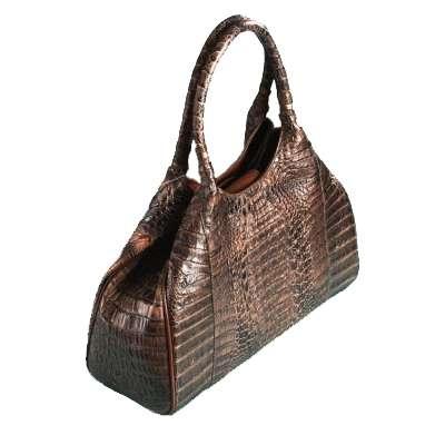 Женская сумка из кожи крокодила 020-116-cro.