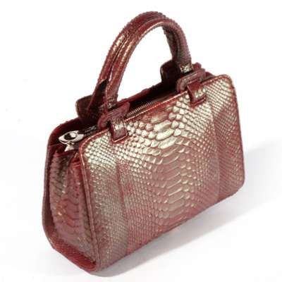 Женская сумка из кожи питона Alanda 23568, модель: 034-233-pyt