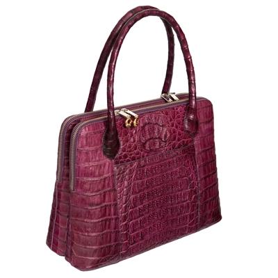 Женская сумка из кожи крокодила Alanda 23411, модель: 056-163-cro