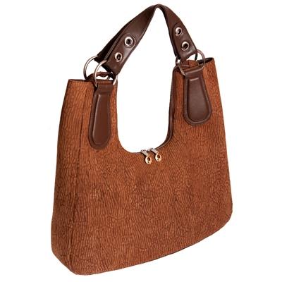 Женская сумка из кожи нерпы.