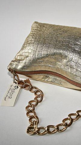 """Сумочка  """"Вэй """" на цепочке (золото).  Стильная сумка из новейшей коллекции..."""