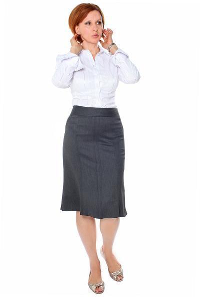 девушки в строгой юбке фото