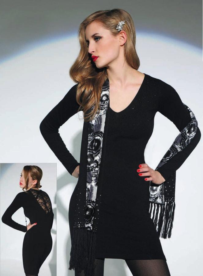 Платье трикотажное с кружевом - Объявление в городе Херсон в разделе Хоз...