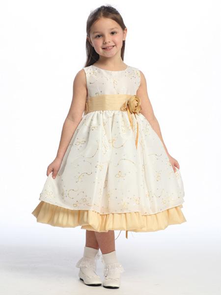 как сшить нарядное детское платье | Наделала