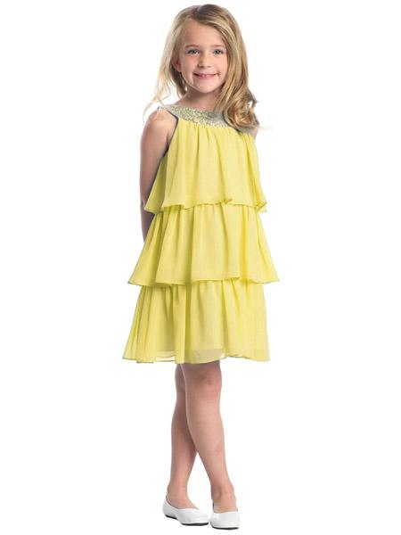 Желтое платье каталог