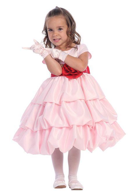 Артикул: L318 Материал: Атлас Вес: 2KG.  Детские праздничные наряды L318
