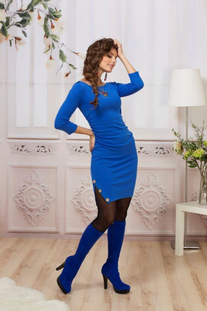 2700 RUR. платье.  Трикотажное.