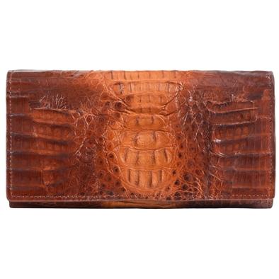 Женский кошелек из кожи крокодила Alanda 24029, модель: 140-114-cro
