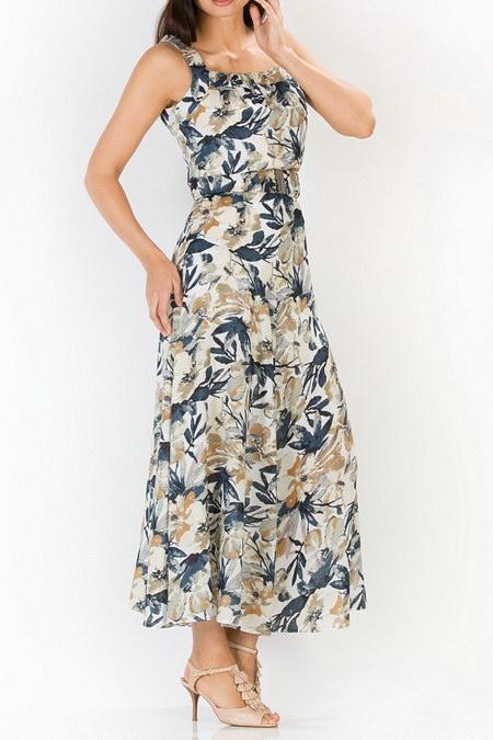 Красивое короткое вечернее платье.  (40 размер)