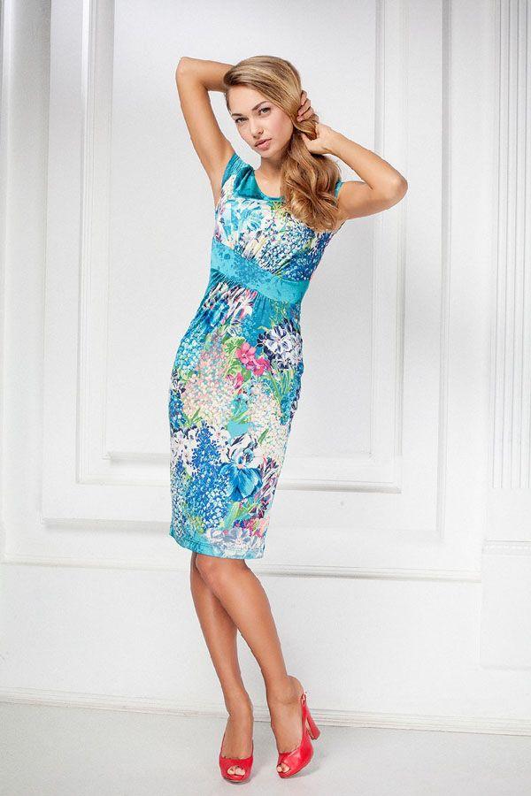 Магазин трикотажных платьев 5
