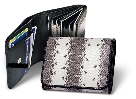Женский кошелек из кожи змеи Quarro 15664, модель: WN-012