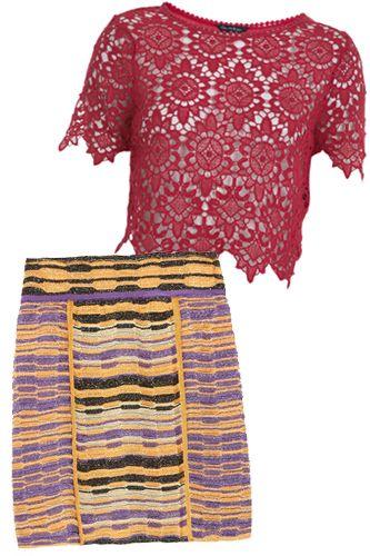 Платье тунисское вязание 16