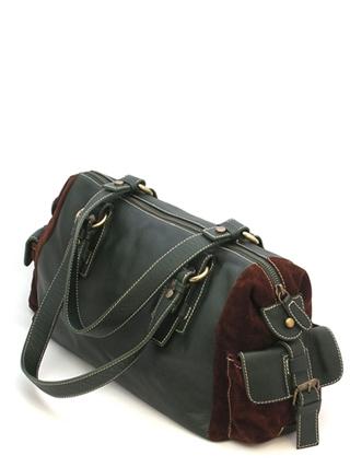 Женская сумка-бочонок.