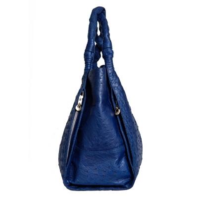 Женская сумка из кожи страуса Alanda 24078.