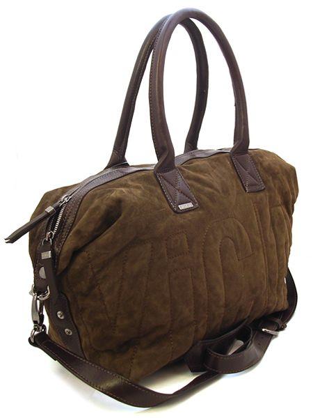 Замшевая коричневая сумка.  Для любителей замшевых вещей эта сумка...