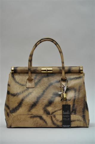 Натуральная кожа...  Итальянские сумки - Тигровая сумочка.