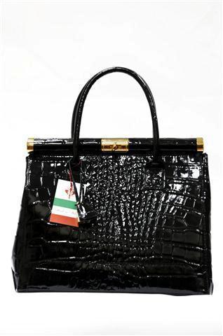 Чёрная лакированная сумка.  5800 RUR.