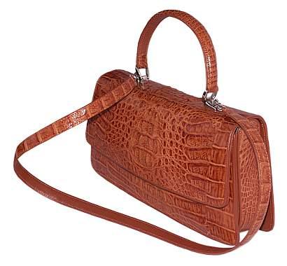 Женская сумка из кожи крокодила 006.