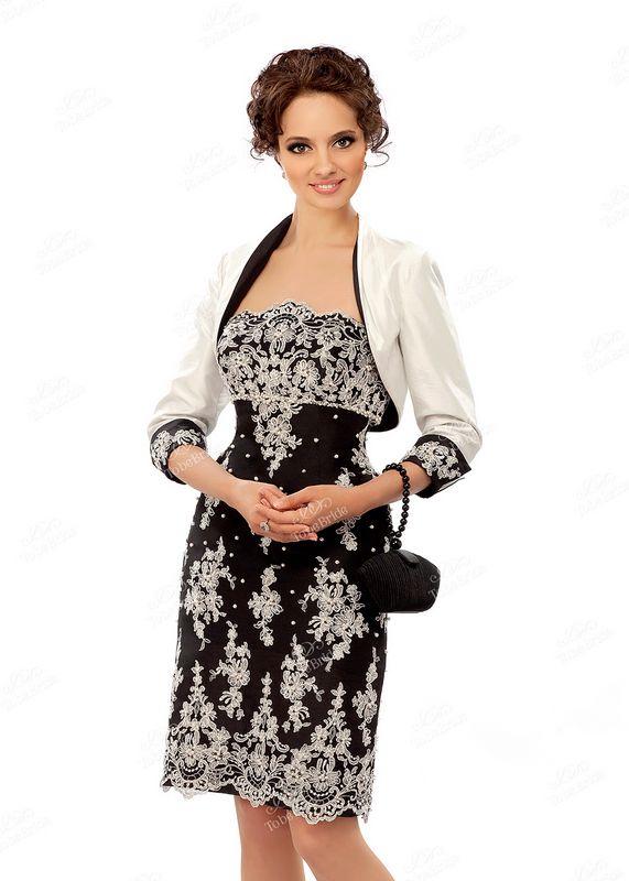 Кружевное вечернее платье C0254B