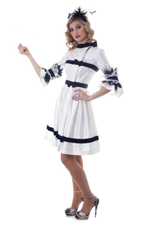 Эксклюзивное платье с перьями от Cartas Chanel_05