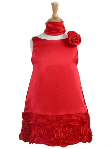"""Великолепное красное платье  """"В стиле ретро """" тому подтверждение."""