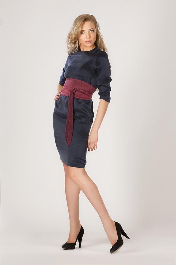Платье базовое с рукавами ¾ купить в интернет-магазине, цена.