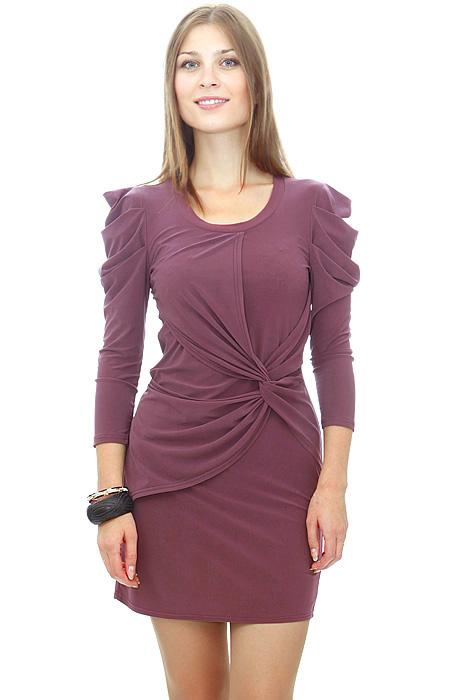 i*/i Трикотажное необыкновенное платье, выполненное по последнему слову...