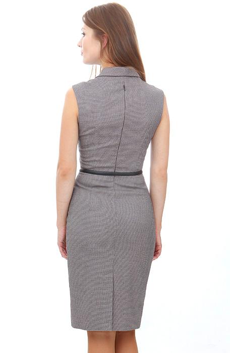 Описание: платье футляр с декольте.