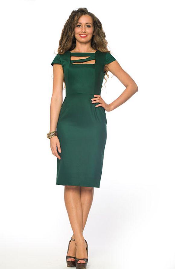 Платье зеленого цвета с доставкой