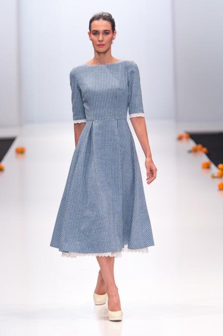 Модные платья из шерсти