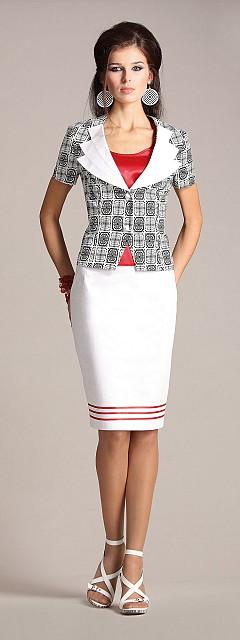 Женские костюмы с юбкой карандаш доставка