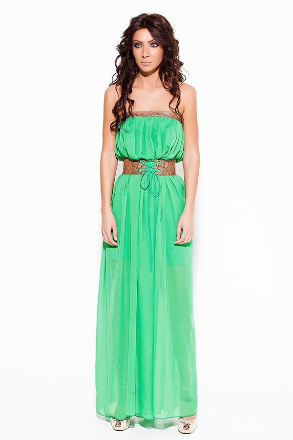 Как сшить яркое платье с кружевом