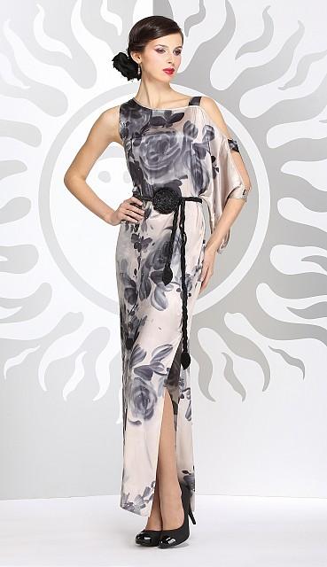 Эксклюзивное летнее платье в пол от NOCHE MIO.