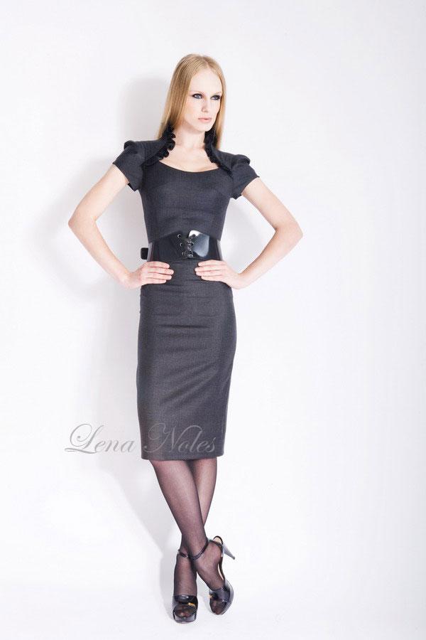 Описание: офисное платье фото - Мода и