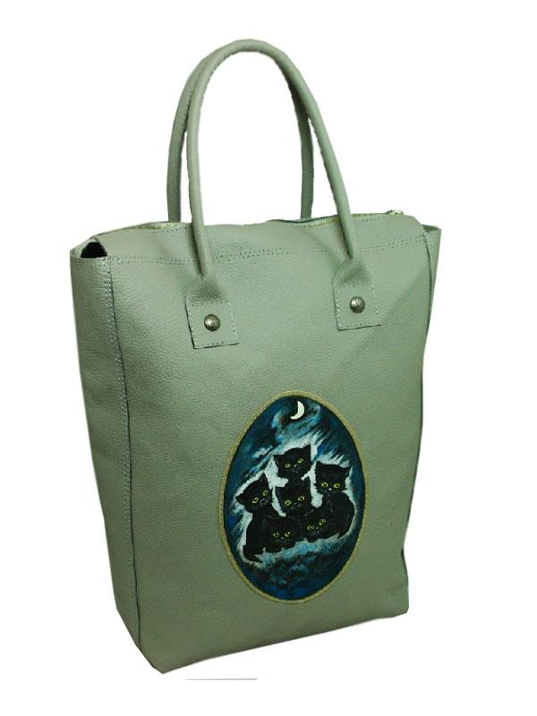 где купить кожаную женскую сумку саквояж.