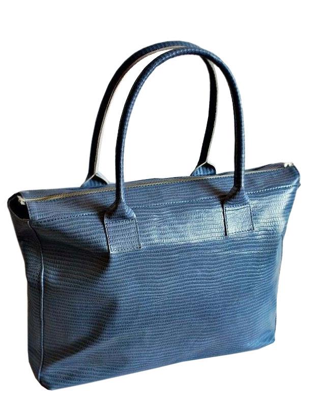 """Сумка  """"Рептилия """" голубая от дизайнера Алены Раца Жизнерадостная сумка..."""