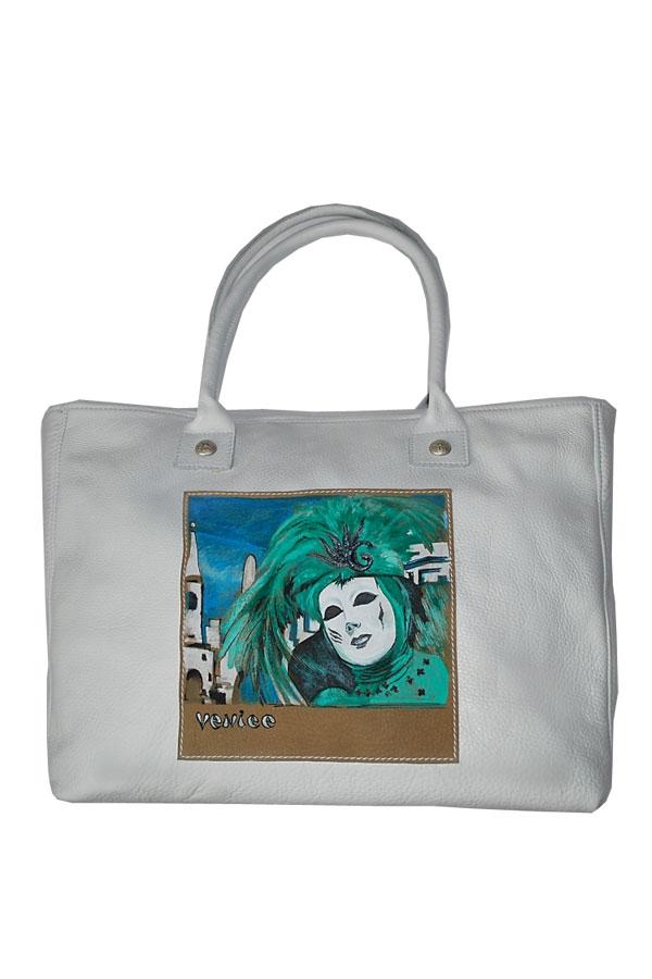 ...дизайнера Алена Раца.Красивая сумка с авторским рисунком - таковой су.