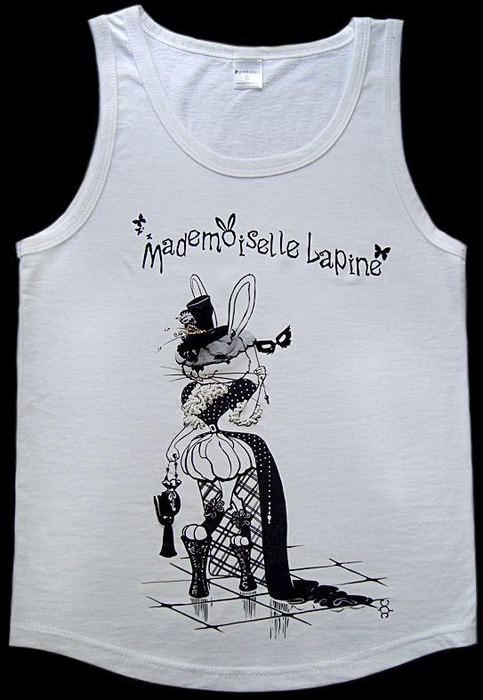 "MICROBYSHEK.  Авторская футболка  ""Зайка с маской """