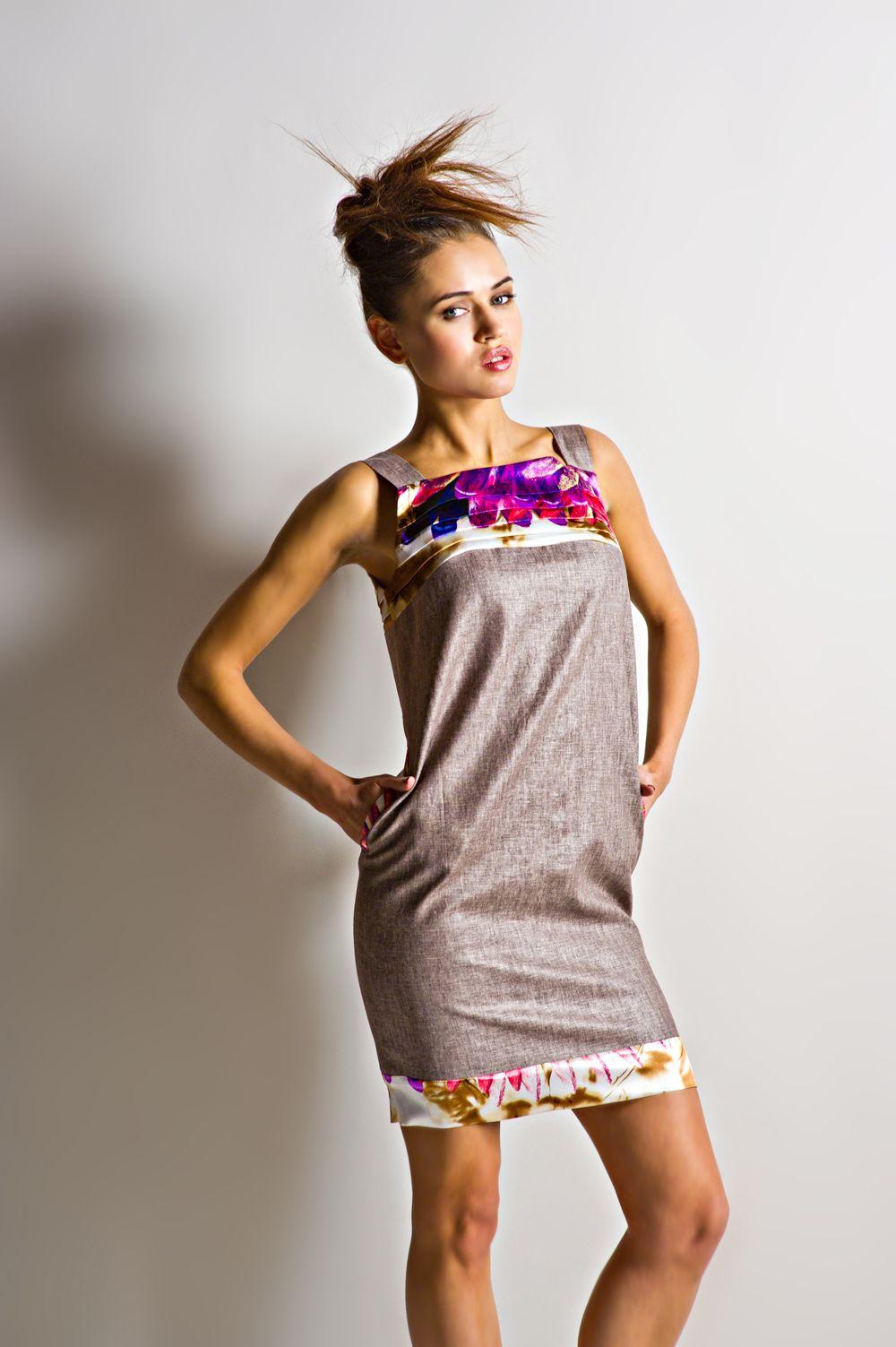 больше породе платье из льна красиво полис
