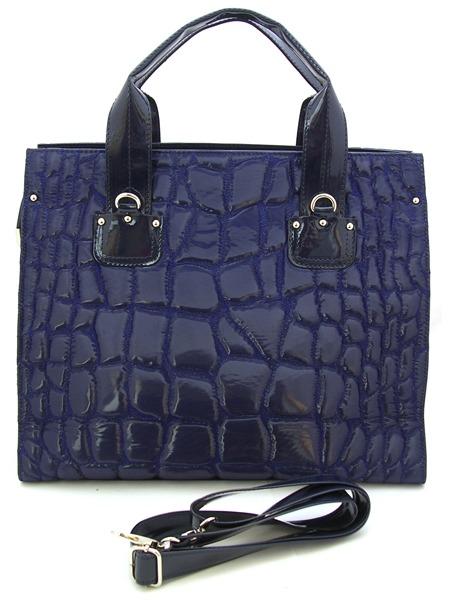 Большая сумка темно-фиолетовая.