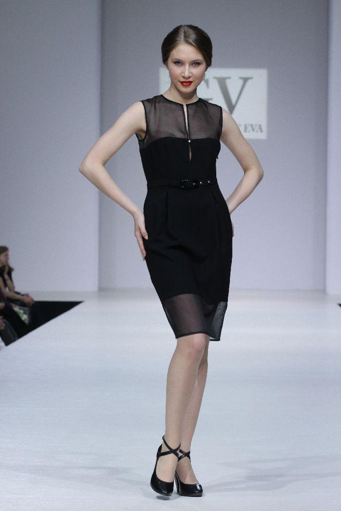 Эксклюзивное комбинированное платье - купить в интернет-магазине брендовой одежды Mallka.ru.  Недорого.