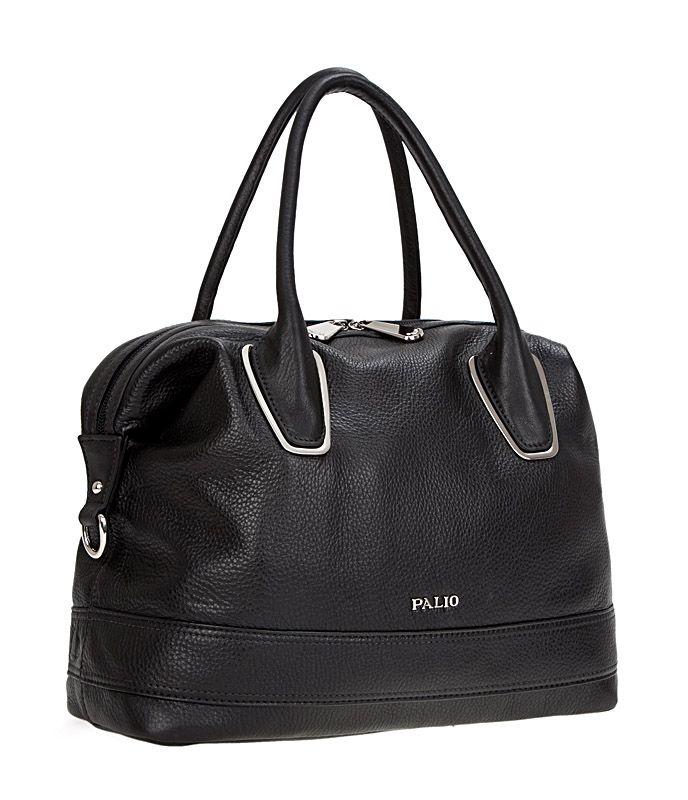 Материал:натуральная кожа Внутреннее пространство:Женская сумка PALIO из на.  В закладки.