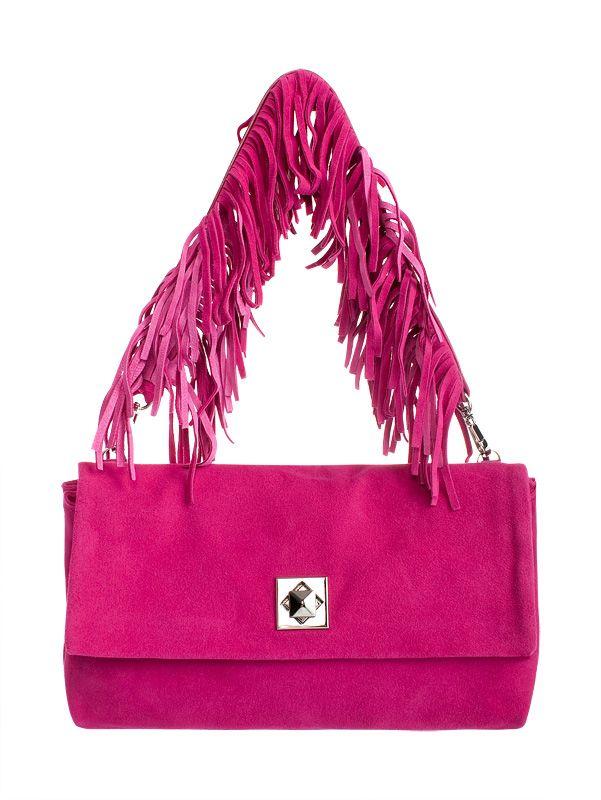 Женская сумка - клатч торговой марки Eleganzza из натуральной замши...