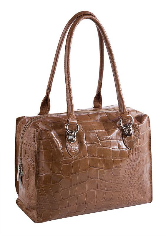 Женская сумка ELEGANZZA выполнена из натуральной кожи бежево-серого...