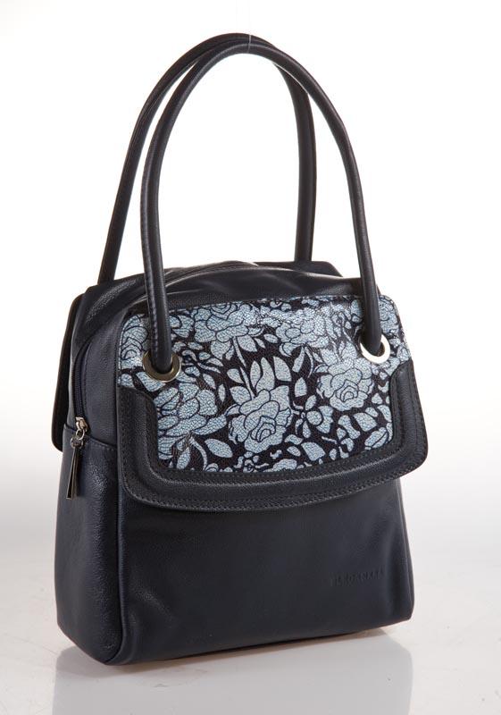 Женская сумка ELEGANZZA изготовлена из натуральной матовой кожи...