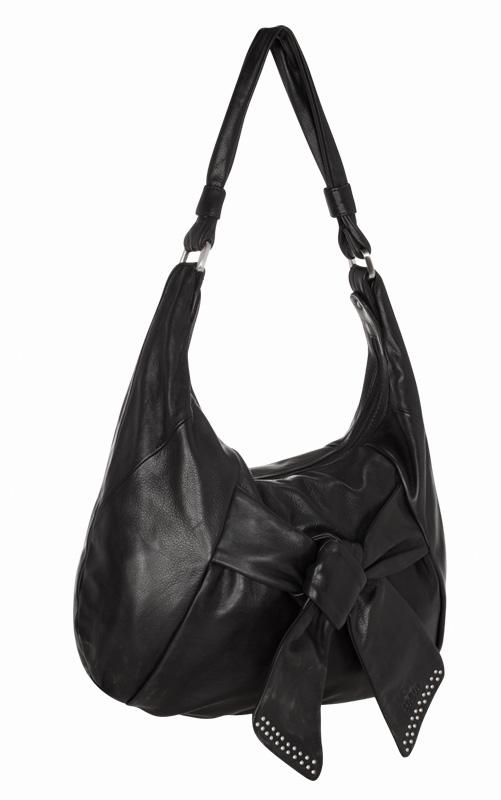 Черная женская сумка из натуральной кожи PALIO.