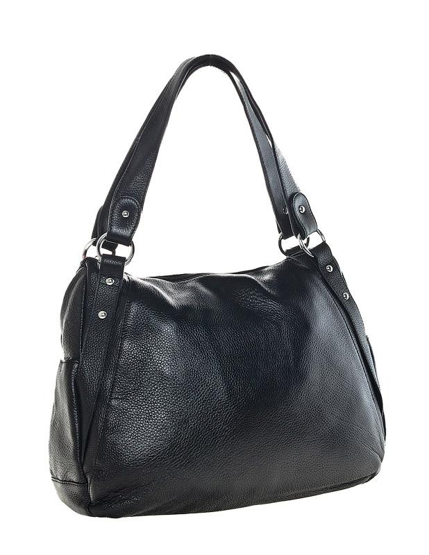 Фирма.  Артикул.  Женская сумка AND выполнена из натуральной матовой.
